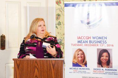 Wood Group CEO Michele McNichol