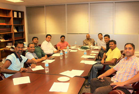General Body Group Meeting on Sep 15, 2016 at India House Library.