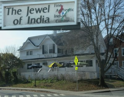 The Jewel of India restaurant in Hanover, NH