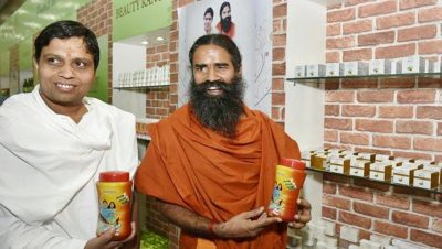hindustan-patanjali-products-addressing-balkrishna-showing-conference_e329c294-c228-11e6-88a7-6a72017c5d0f