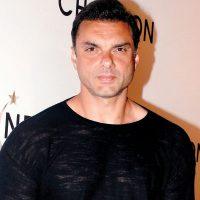 Sohail-Khan-In-Black-T-Shirt