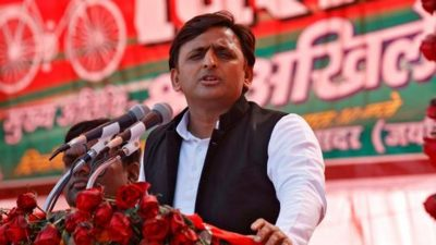 Samajwadi Party (SP) president and UPchief minister Akhilesh Yadav at an election campaign rally in Sultanpur, on January 24, 2017. (Reuters File )