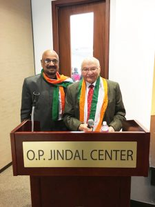 Col. Vipin Kumar and Dr. Virendra Mathur. Photo: Vanshika Vipin Varma