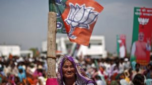 The UPpolls is now turning into a larger battle driven by the Modi factor even as Congress-SPalliance is fighting to hold on to the edge they had been having.(Reuters Photo)