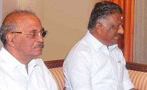 """Wait and watch,"" said Mr Madhusudhanan in response to his removal as AIADMK Presidium Chairman."