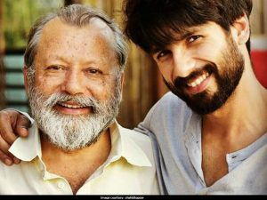 'I don't see Shahid Kapoor in the film,' said the actor's father (courtesy: shahidkapoor)