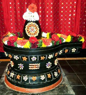 Alankaram of fresh fruits and vegetables