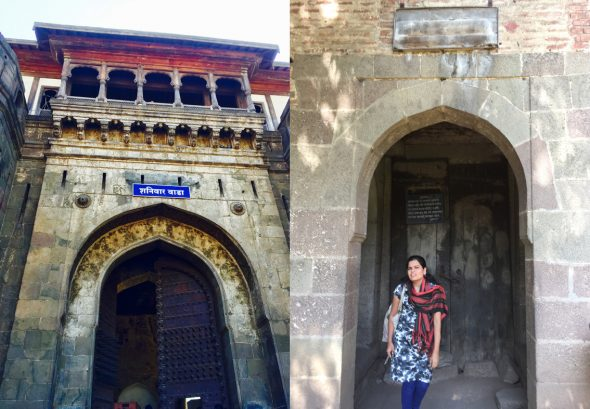 The premier tourist attraction in Pune is Shaniwar Wada, the palace built by Peshwa Bajirao I in 1732. This is the same Bajirao, whose paramour was Mastani. She was given a separate access to the palace (right).