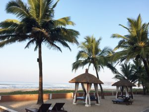 Resorts at Ganapati Pule may not be as luxurious as the ones in Goa, but offer creature comforts at a lower cost and less congestion.