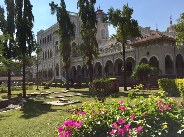 Aga Khan Palace was built by Sultan Muhammed Shah Aga Khan III in 1892. The palace was an act of charity by the Sultan who wanted to help the poor in the neighboring areas of Pune, that were drastically affected by famine.