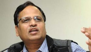 The Income Tax department attaches assets worth Rs 33 crore that Delhi health minister Satyendar Jain had allegedly amassed illegally.(HT File Photo)
