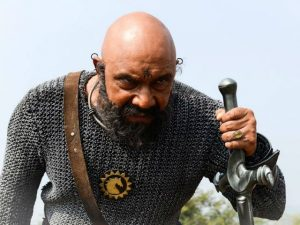 Katappa in a still from Baahubali