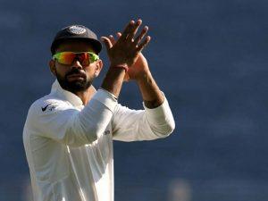 Virat Kohli received support from legendary opening batsman Matthew Hayden. © AFP