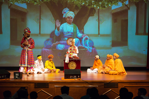 Skits by young children and teenagers