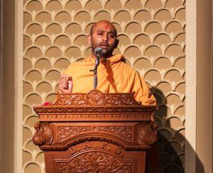 Cheif Guest Pujya Kaivalyamurti Swami