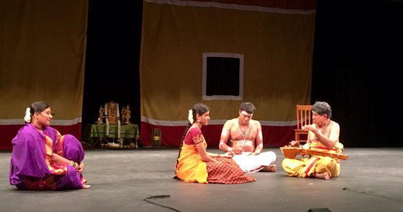 Scene from the play