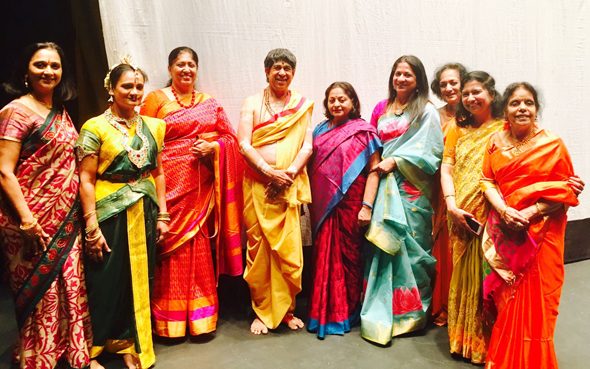 TV Varadarajen with the Classical Arts Board