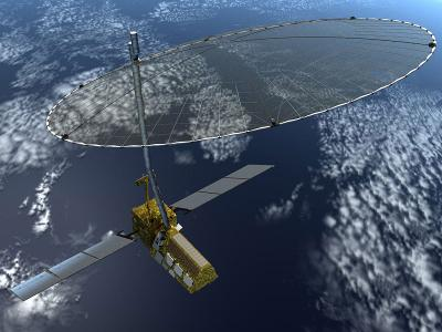 A concept photo of NISAR satellite (Courtesy: Nasa)