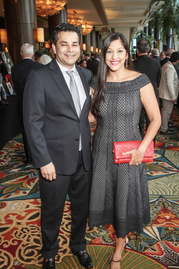 IM Board Vice Chair Shaukat Zakaria and Boardmember Dr. Sippi Khurana.