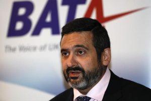 British Airways chairman and chief executive Alex Cruz. Photo: Reuters