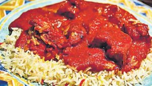 An Indian meal often comprises of rice and curry. Locals alleged that the smells from the Indian restaurant were so strong, it left them needing to wash their clothes.(Representative image)