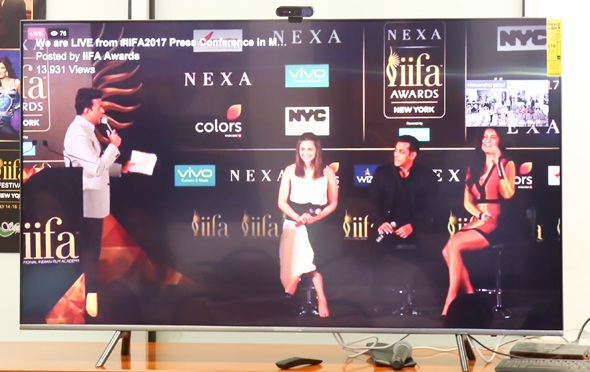 Video Press Conference with Salman Khan, Katrina Kaif and Alia Bhatt.