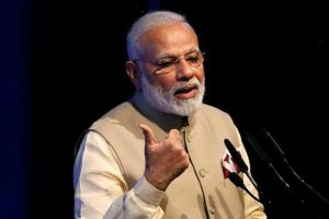 Narendra Modi arrived in the American capital early on Sunday after a day-long working visit to Portugal. Photo: Reuters