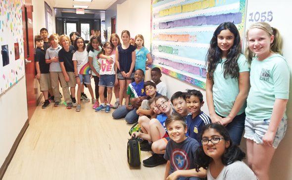 The Readathon 4th Graders