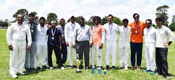 Winners Houston Arrows with Jagadish Biradar