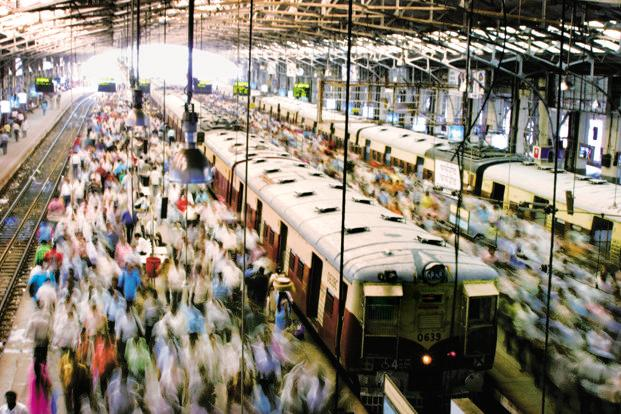 India's population is estimated to touch 1.5 billion in 2030. Photo: Bloomberg