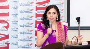 IACF President Dr. Vanitha Pothuri noted that the Foundation funds only local charities in the Houston metropolitan area