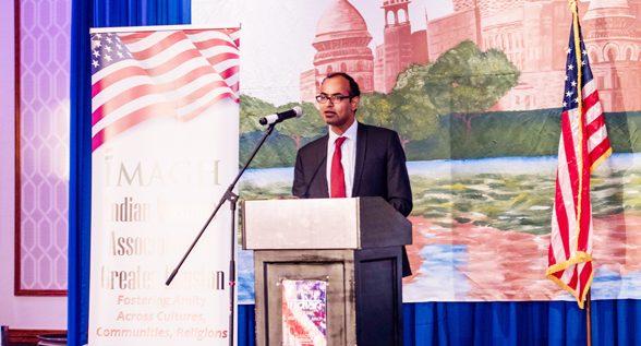 Deputy Consul General Surendra Adhana
