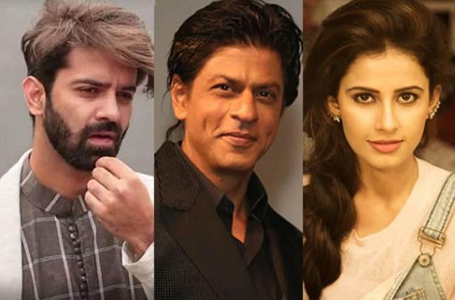"Actress Shivani Tomar says her ""Iss Pyaar Ko Kya Naam Doon"" co-star Barun Sobti's screen presence matches the level of Bollywood superstar Shah Rukh Khan."