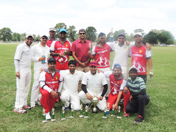 Runners up CJCC with Golam Mohammad Nousher