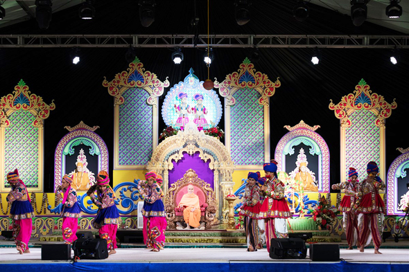 Cultural Performances by the youth of BAPS.