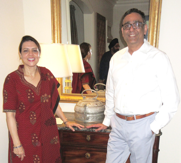 Shazma and Arshad Matin opened up their River Oaks house for the IMAGH high tea this past Sunday, August 6Photos: Jawahar Malhotra