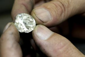 Surat is considered to be the global centre for diamond cutting and polishing. Around 90% of the 'rough' diamonds mined across the world are sent to Surat. Photo: Bloomberg