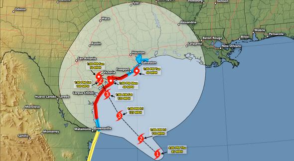 Hurricane Harvey. Photo: Forbes.com