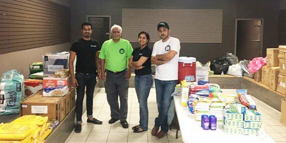 Abiya Malhotra & the Sage Productions team