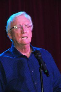 Well-known local voice teacher Tom McKinney spoke of his work with Shreya