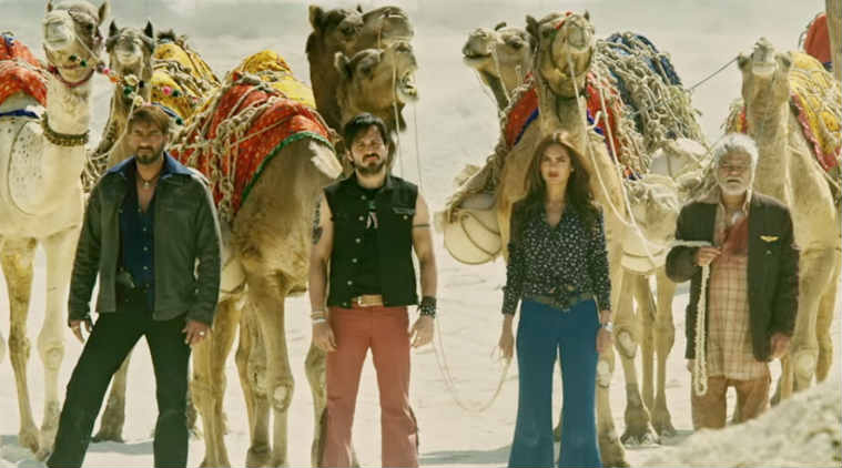 Baadshaho movie review: Sanjai Mishra is the surprise element of the film and receives maximum applause from the audience.