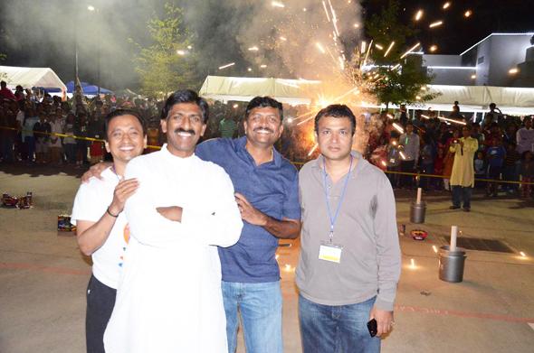 HTW Diwali Mela Volunteers during the 2016 celebrations.