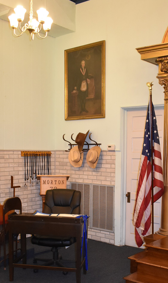 Bhalla's framed portrait and dedication will be placed in a corner of the hall adjacent a portrait of George Washington.