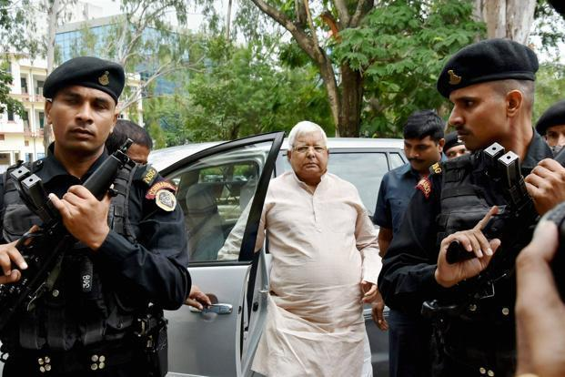 The CBI wants to question Lalu Prasad Yadav for a contract given for the maintenance of two IRCTC hotels in 2006. Photo: PTI