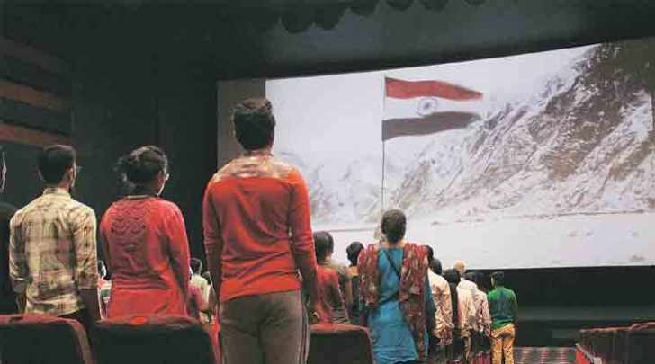 """Last year, the SC had said that """"love and respect for the motherland are reflected when one shows respect to the national anthem as well as to the national flag""""."""