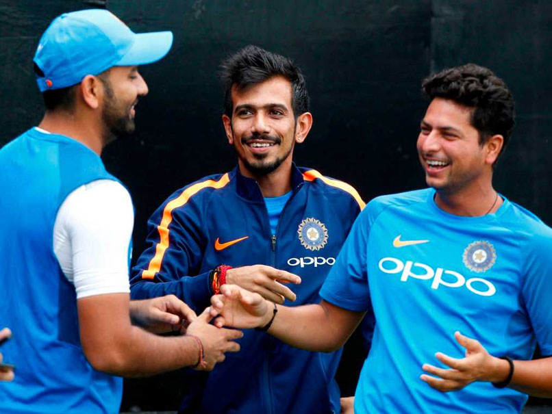 Rohit Sharma turned into a reporter and interviewed his teammates Chahal and Kuldeep