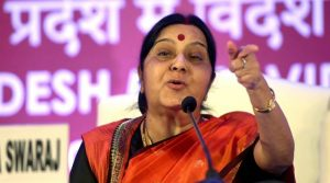 """This comes three months after External Affairs Minister Sushma Swaraj said it was a """"sin"""" to presume the 39 men were dead, unless there was proof. (PTI Photo)"""