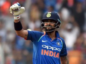 irat Kohli became the fastest to score 1000 runs in ODIs against New Zealand.