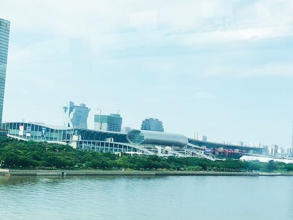 The Canton Fairgrounds in Guangzhou, China