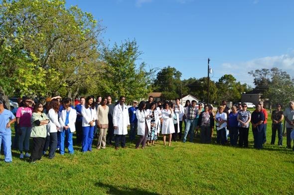 Seva Clinic volunteers
